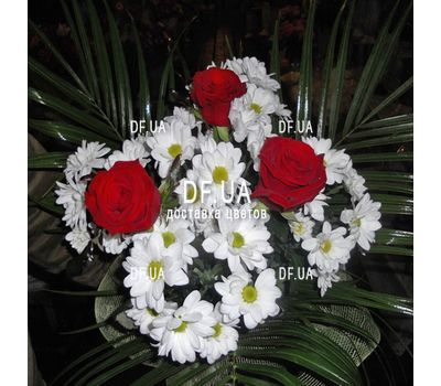 """""""A small bouquet of flowers - view 6"""" in the online flower shop df.ua"""