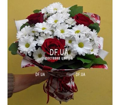 """""""A small bouquet of flowers - view 7"""" in the online flower shop df.ua"""