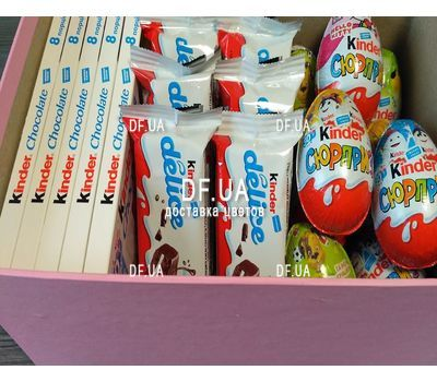 """Box kinder surprise - view 3"" in the online flower shop df.ua"