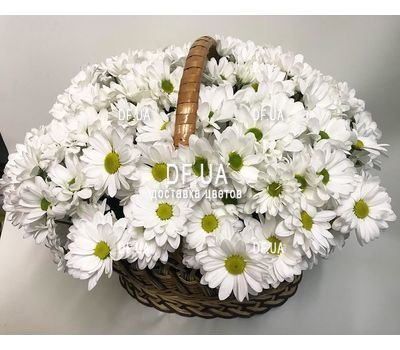 """Basket with flowers for wedding - view 1"" in the online flower shop df.ua"