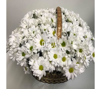 """Basket with flowers for wedding - view 2"" in the online flower shop df.ua"