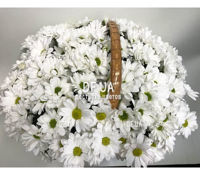 """Basket with flowers for wedding - view 3"" in the online flower shop df.ua"