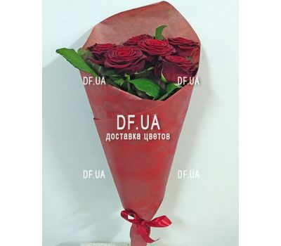 """7 red roses - view 4"" in the online flower shop df.ua"