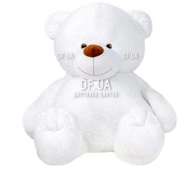 """White Teddy Bear 1 m"" in the online flower shop df.ua"
