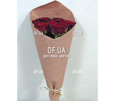 """Bouquet of 11 red roses - view 10"" in the online flower shop df.ua"