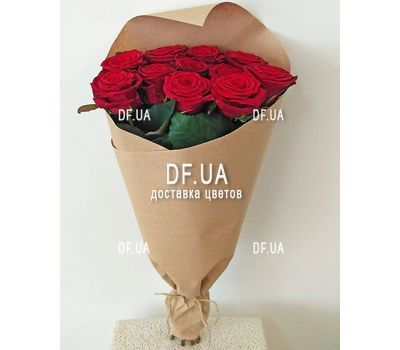 """Bouquet of 11 red roses - view 8"" in the online flower shop df.ua"