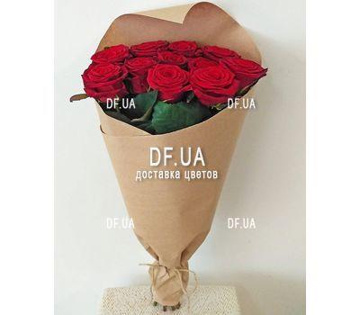 """""""Букет 11 красных роз - вид 8"""" в интернет-магазине цветов df.ua"""