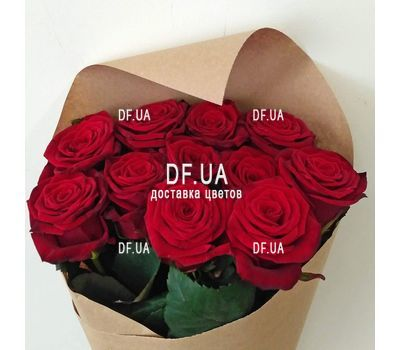 """Bouquet of 11 red roses - view 9"" in the online flower shop df.ua"