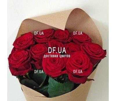"""""""Букет 11 красных роз - вид 9"""" в интернет-магазине цветов df.ua"""