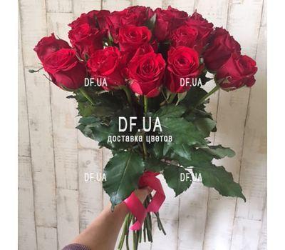 """""""Букет 21 красная роза - вид 1"""" в интернет-магазине цветов df.ua"""
