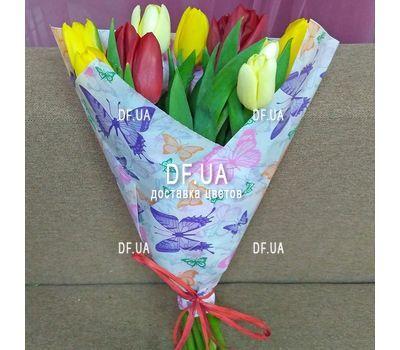"""""""Букет из 11 тюльпанов – вид 1"""" в интернет-магазине цветов df.ua"""