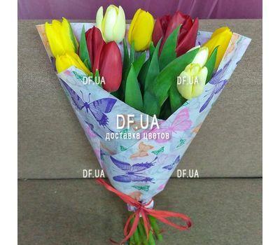 """""""Букет из 11 тюльпанов – вид 12"""" в интернет-магазине цветов df.ua"""