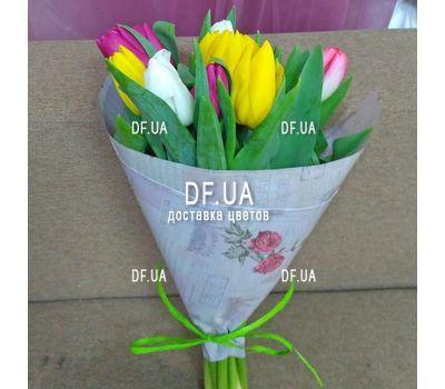 """""""Букет из 11 тюльпанов – вид 13"""" в интернет-магазине цветов df.ua"""