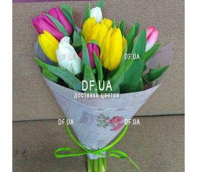 """""""Букет из 11 тюльпанов – вид 14"""" в интернет-магазине цветов df.ua"""
