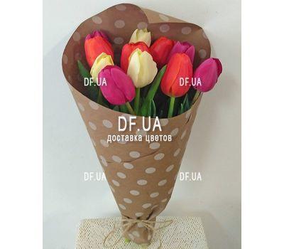 """""""Букет из 11 тюльпанов – вид 15"""" в интернет-магазине цветов df.ua"""