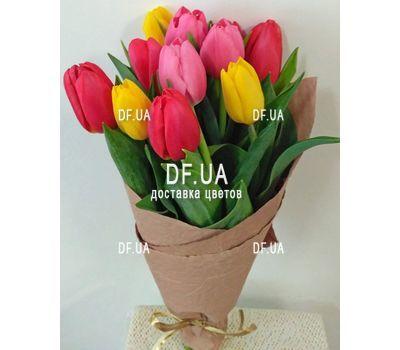 """""""Букет из 11 тюльпанов – вид 18"""" в интернет-магазине цветов df.ua"""