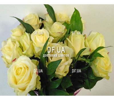 """Bouquet of 15 roses in craft - view 8"" in the online flower shop df.ua"