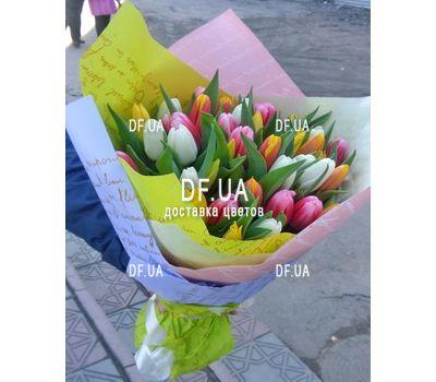 """""""Букет из 51 тюльпана - вид 4"""" в интернет-магазине цветов df.ua"""
