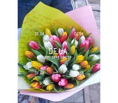"""""""Букет из 51 тюльпана - вид 5"""" в интернет-магазине цветов df.ua"""