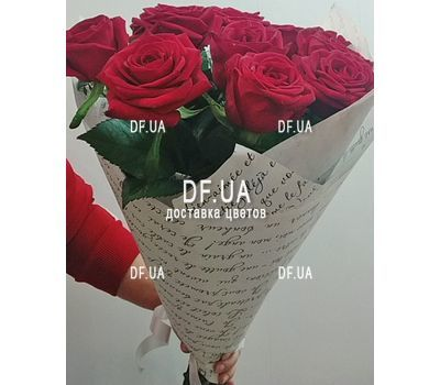 """Classic bouquet of roses - view 8"" in the online flower shop df.ua"
