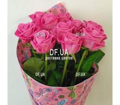 """""""Нежный букет розовых роз - вид 3"""" в интернет-магазине цветов df.ua"""