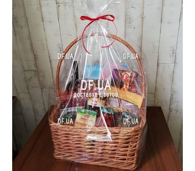 """Gift food basket - view 3"" in the online flower shop df.ua"