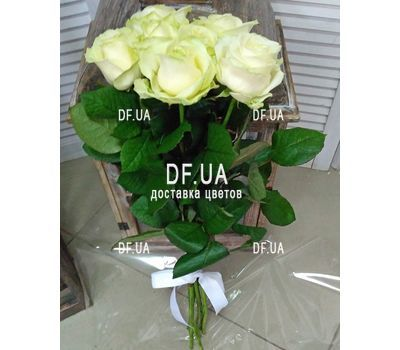 """Seven white roses - view 4"" in the online flower shop df.ua"