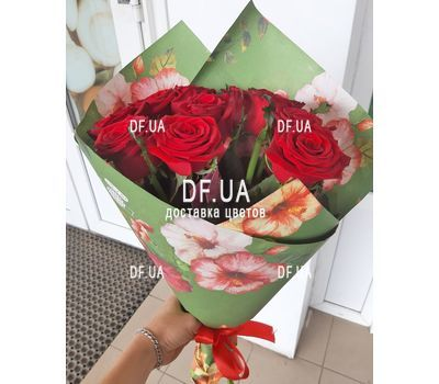 """Bouquet of 11 roses - view 6"" in the online flower shop df.ua"
