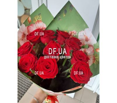 """Bouquet of 11 roses - view 7"" in the online flower shop df.ua"