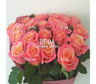 """Bouquet of 21 roses - view 2"" in the online flower shop df.ua"