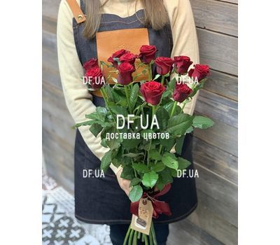 """Bouquet of 11 roses - view 8"" in the online flower shop df.ua"