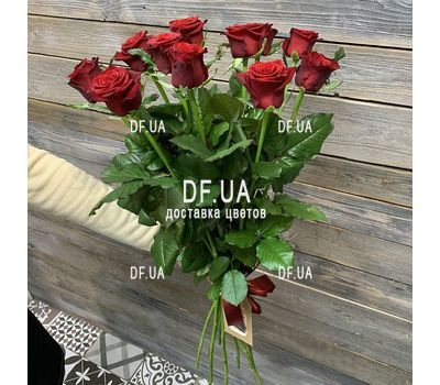 """Bouquet of 11 roses - view 9"" in the online flower shop df.ua"