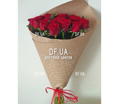 """""""Simple bouquet of roses - view 5"""" in the online flower shop df.ua"""