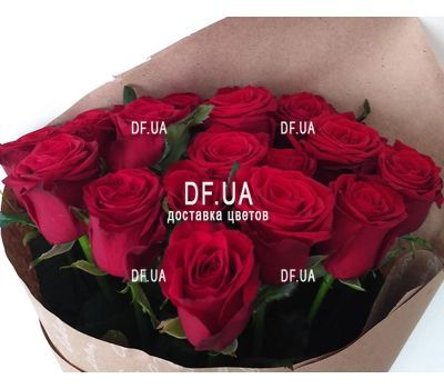"""""""Simple bouquet of roses - view 6"""" in the online flower shop df.ua"""