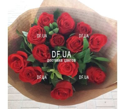 """A bouquet of red roses 9"" in the online flower shop df.ua"
