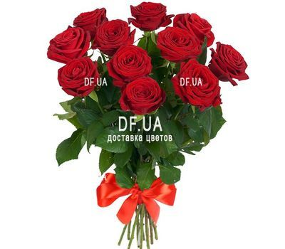 """11 red roses"" in the online flower shop df.ua"