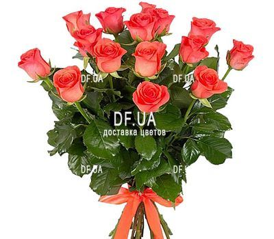 """15 orange roses"" in the online flower shop df.ua"