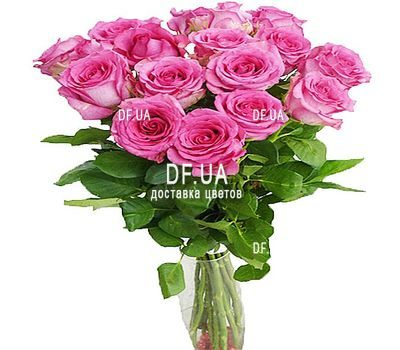 """""""Bouquet of 17 roses"""" in the online flower shop df.ua"""