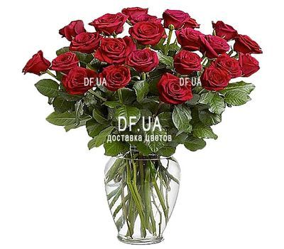 """21 red roses"" in the online flower shop df.ua"