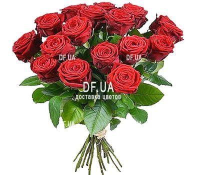"""""""17 красных роз"""" в интернет-магазине цветов df.ua"""