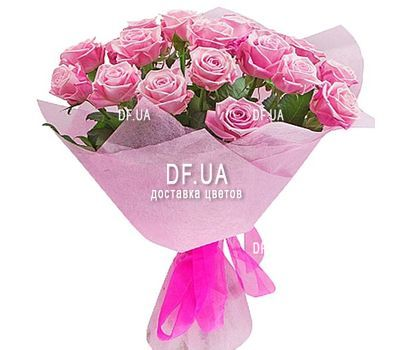 """23 pink roses"" in the online flower shop df.ua"