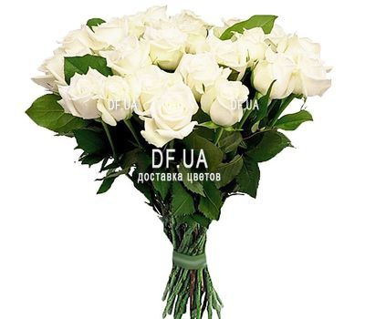 """""""31 white rose"""" in the online flower shop df.ua"""