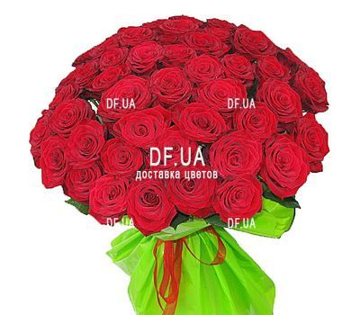 """47 red roses"" in the online flower shop df.ua"