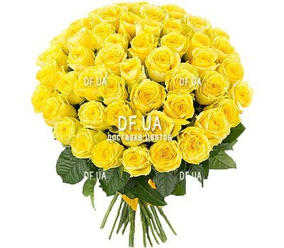 """51 yellow rose"" in the online flower shop df.ua"