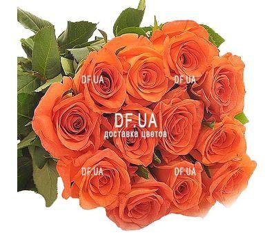 """""""17 orange roses"""" in the online flower shop df.ua"""
