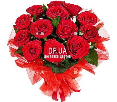 """13 red roses"" in the online flower shop df.ua"