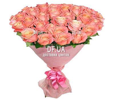 """""""23 розы мисс пигги"""" в интернет-магазине цветов df.ua"""